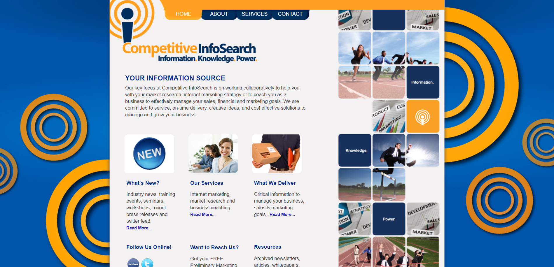 Competitive Info Search Marketing