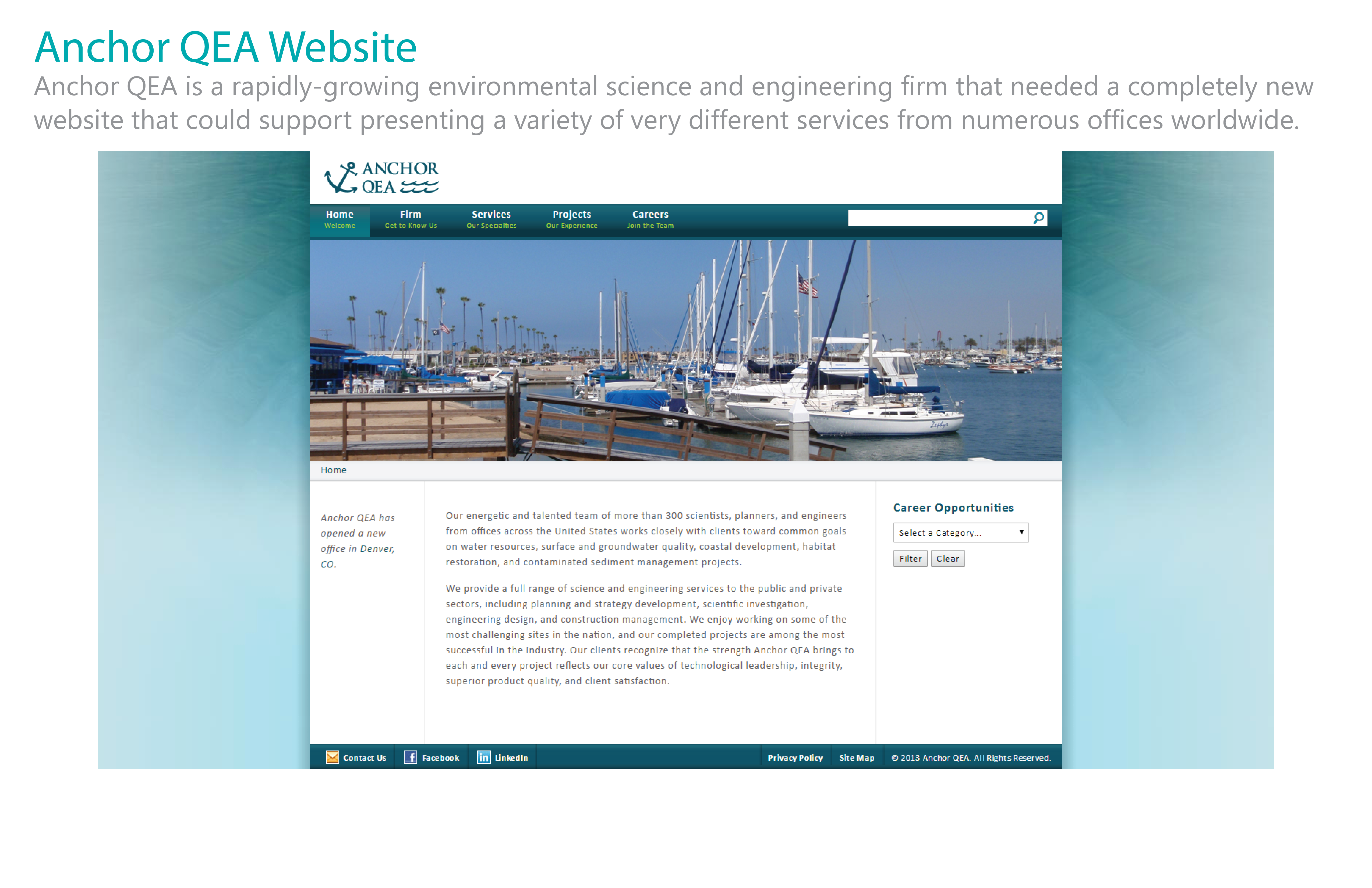Anchor QEA Website