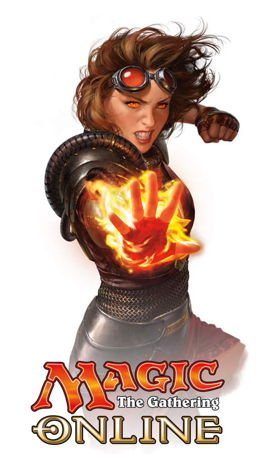 Chandra Nalaar from Magic: The Gathering, Illustrated by Chris Rallis, Courtesy of Wizards of the Coast
